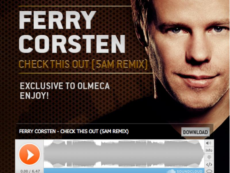 Open Be the DJ - Ferry Corsten